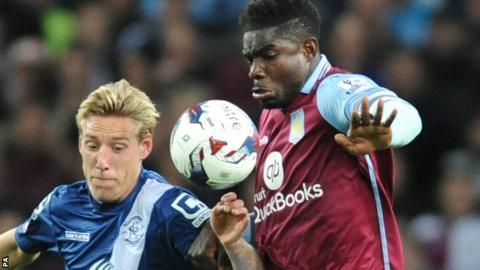 Aston Villa team captain Micah Richards