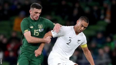 Troy Parrott: McCarthy welcomes Republic of Ireland forward to 'men's football'
