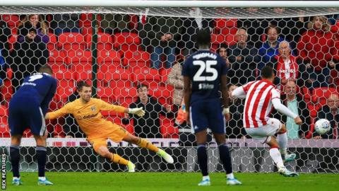 EFL: Stoke City score a penalty at last, Brentford beat Millwall in thriller