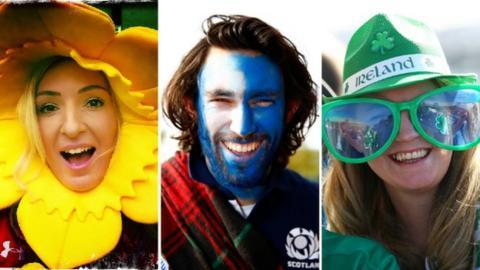 Six Nations fans