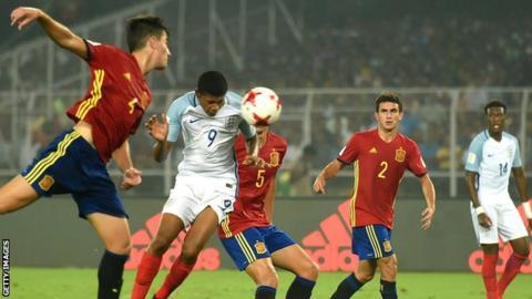 Liverpool and England forward Rhian Brewster