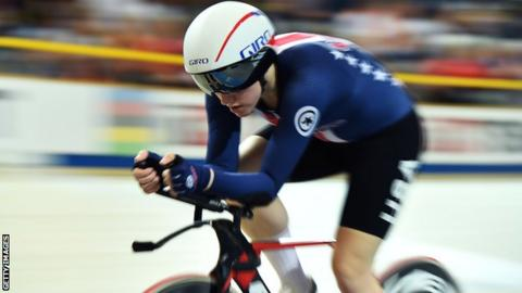 Olympic track cyclist Kelly Catlin died Friday at 23