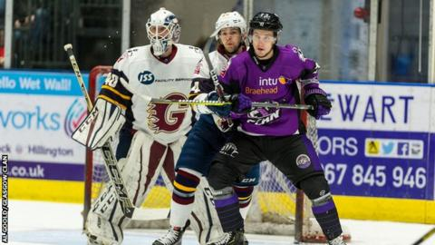 Clan reached the Elite Ice Hockey League play-offs in Russell's first season