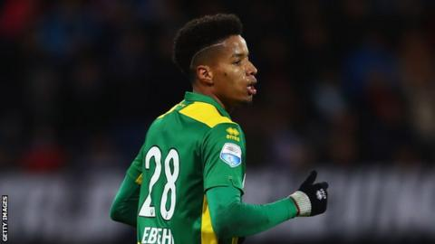 57ae6680588 Nigeria s Tyronne Ebuehi moves to Benfica after five years at Dutch side ADO  Den Haag