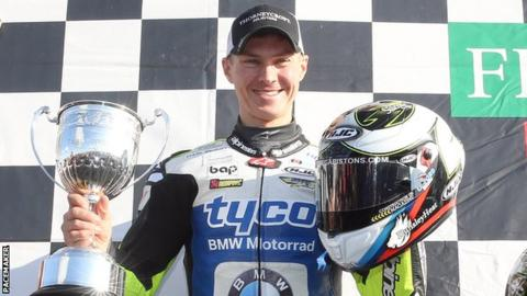 Christian Iddon finished seventh in the British Superbike Championship