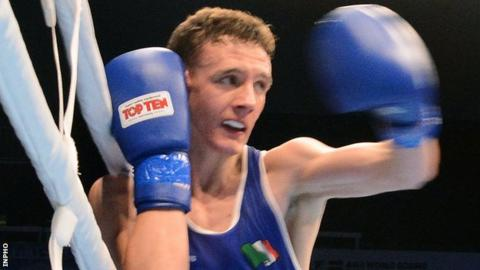 Brendan Irvine won a silver medal in the 2015 European Games