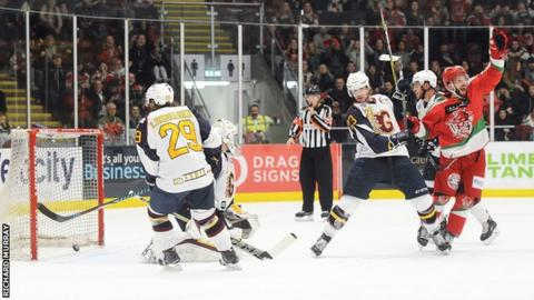 Devils score their winner against Guildford Flames
