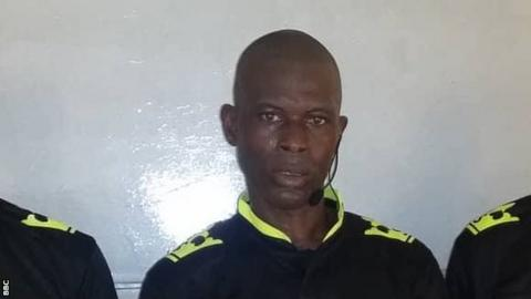 Liberian referee Jerry Yekeh cleared by Caf