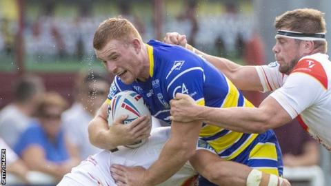 Jack Hughes joined Warrington from Wigan ahead of the 2016 Super League campaign