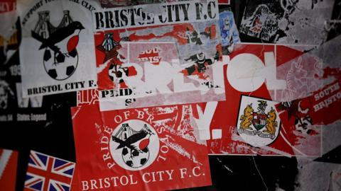 Bristol City stickers