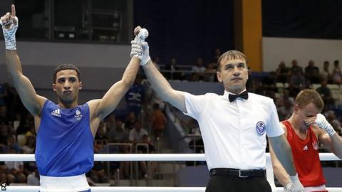 GB boxer Galal Yafai