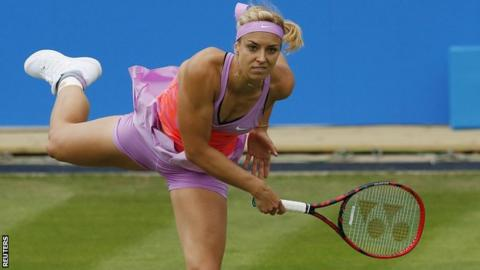 Lisicki won the Birmingham tournament in 2011