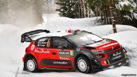 Kris Meeke in Rally Sweden