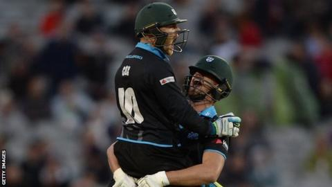 Ben Cox's match-winning six at Old Trafford played a big part in Worcestershire's run to the quarter-finals