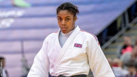British judoka Nekoda Smythe-Davis