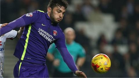 Tony Watt in action for Charlton Athletic