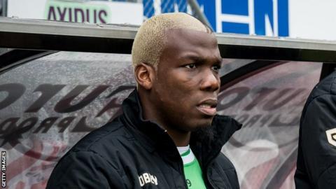 Guinea's Mathias Pogba