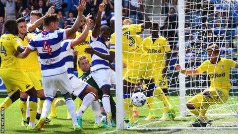 Nedum Onuoha opens scoring for QPR