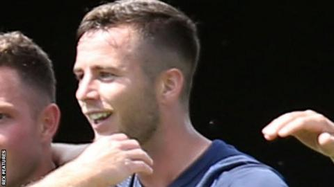 Southend United defender Harry Lennon