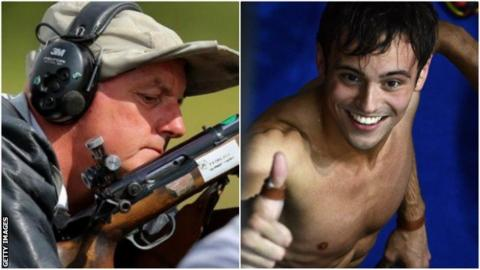 David Calvert will represent Northern Ireland at the age of 67, while Tom Daley is seeking a fifth Commonwealth medal