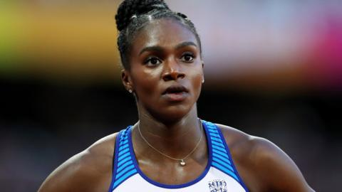 Dina-Asher Smith of Great Britain