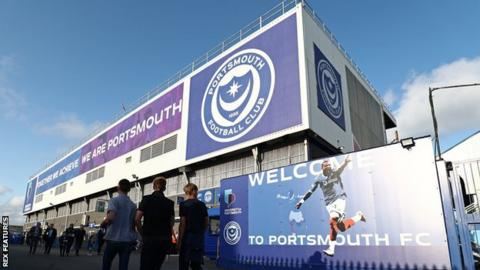 hollywood Portsmouth dropped into League Two in 2013 - five years after winning the FA Cup and finishing eighth in the Premier League