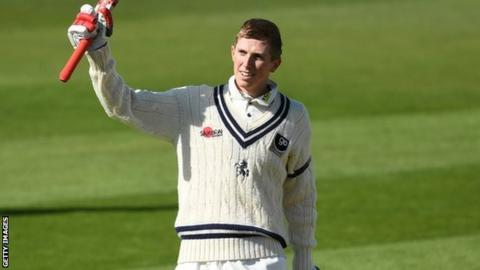 Zak Crawley made his maiden century in last season's final home Championship game against Kent at Canterbury