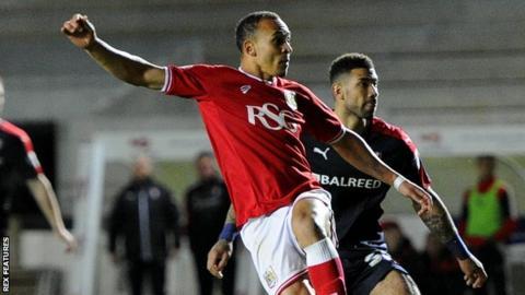 Bristol City striker Peter Odemwingie