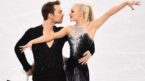 Penny Coomes and Nick Buckland of Great Britain