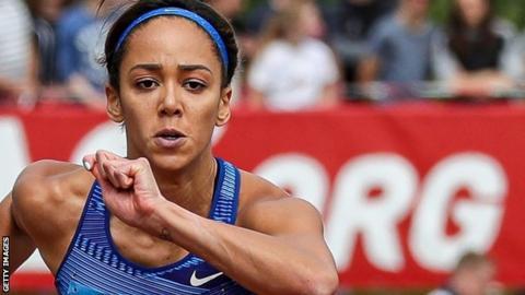 Gotzis: Katarina Johnson-Thompson wins heptathlon with personal best score