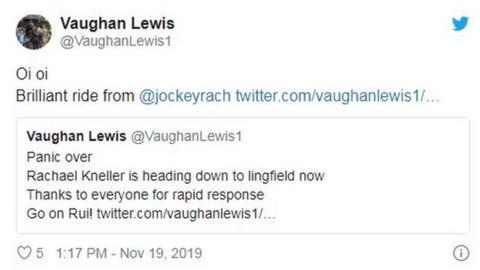 Vaughan Lewis on Twitter