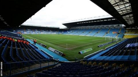 Leeds United's Elland Road stadium
