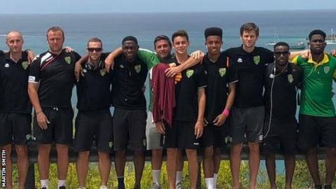 British Virgin Islands: Martin Smith gets first international call-up aged 49