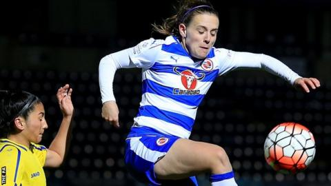 Reading Women midfielder Lauren Bruton