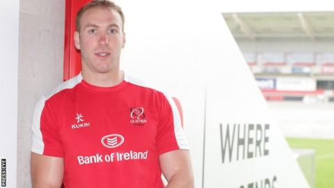 Stephen Ferris won 106 caps for Ulster in a 10-year playing career with the province
