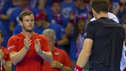 Leon Smith has been captain of the Great Britain Davis Cup team since 2010