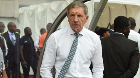 South Africa coach Stuart Baxter