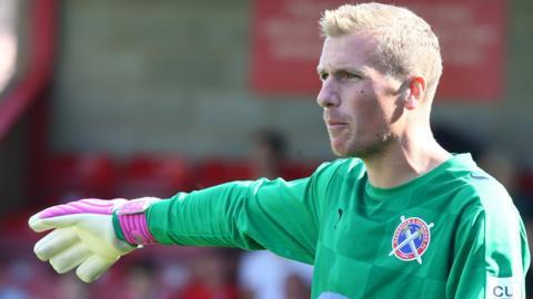 Elliot Justham in action for Dagenham