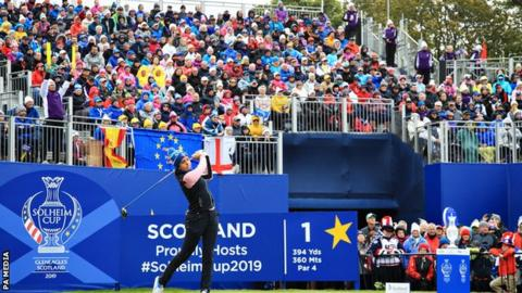 Solheim Cup 2019: Georgia Hall to face Lexi Thompson in Sunday's singles