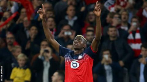 Victor Osimhen: Nigerian wins French Player of the Month award