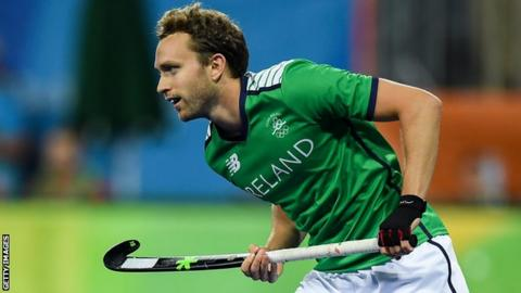 Mitch Darling hit Ireland's second goal in Valencia