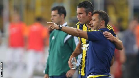 Robin Van Persie has been used a substitute in recent weeks by Vitor Pereira