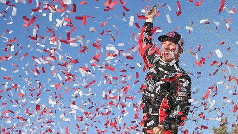 NASCAR driver John Hunter Nemechek