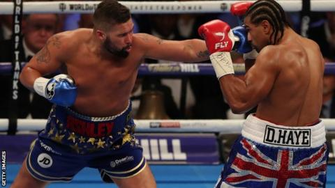 Tony Bellew has beaten David Haye at heavyweight level in his last two fights
