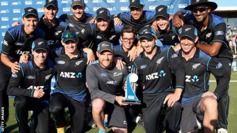 New Zealand one-day team
