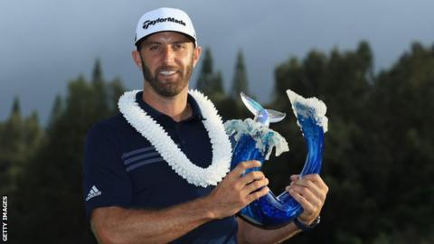 Dominant Dustin Johnson Blows Field Away at Kapalua