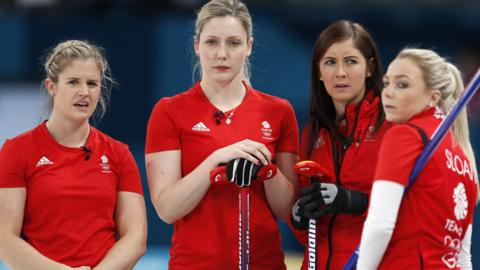 GB women's curling team