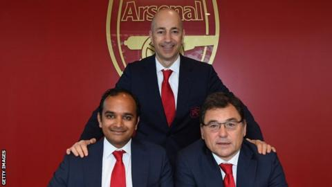 Raul Sanllehi confirms Arsenal held talks over potential European Super League