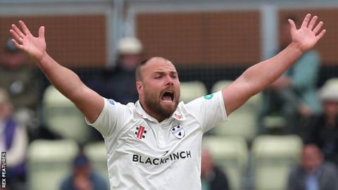 Worcestershire's Joe Leach
