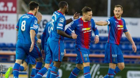 Inverness Caledonian Thistle are the Scottish Cup holders